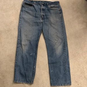 Men's 501 Levi Jean 38 x 30 pre-owned